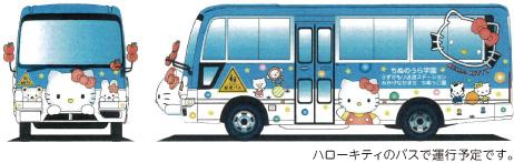 ハローキティバス
